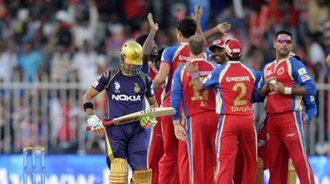 IPL 7 Live Cricket Score, KKR vs RCB: KKR beat RCB by 2 runs in a thrilling contest