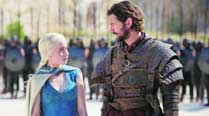 Emilia Clarke and   Nikolaj Coster-Waldau  in Game of Thrones