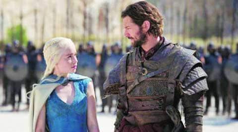 Emilia Clarke and   Nikolaj Coster-Waldau  in Game of Thrones