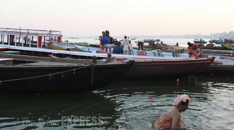 In battle for Varanasi, no party has a take on Ganga