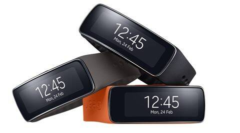 The Samsung Gear Fit is priced at Rs 15,900