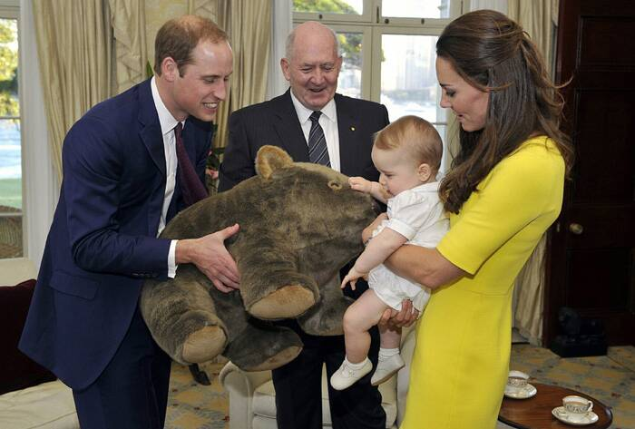 Kate Middleton, Prince William tour Australia sans baby Prince George