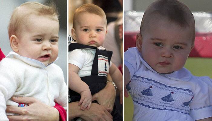 Prince George and his many sweet expressions during first tour abroad