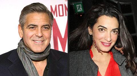 Clooney, 52, and Alamuddin, 36, were hit with engagement rumours a week ago.