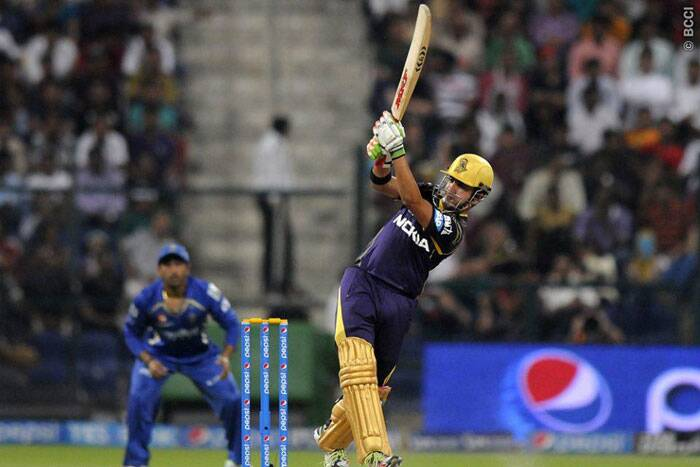 Gautam Gambhir steadied the Kolkata with a 45 run innings off 44 balls. (Photo: BCCI/IPL)