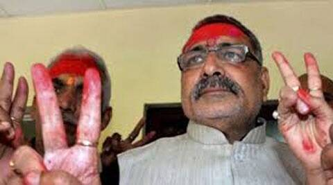Giriraj Singh  had stoked controversy saying that those who opposed Narendra Modi should go to Pakistan.