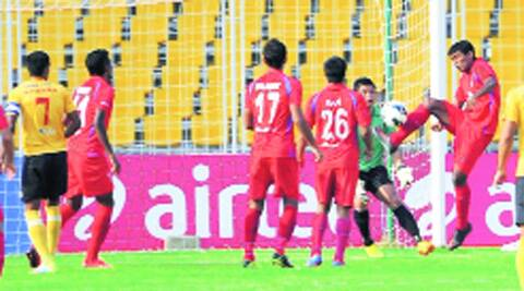 Churchill's Raju Yumnam scored the only goal of the game.