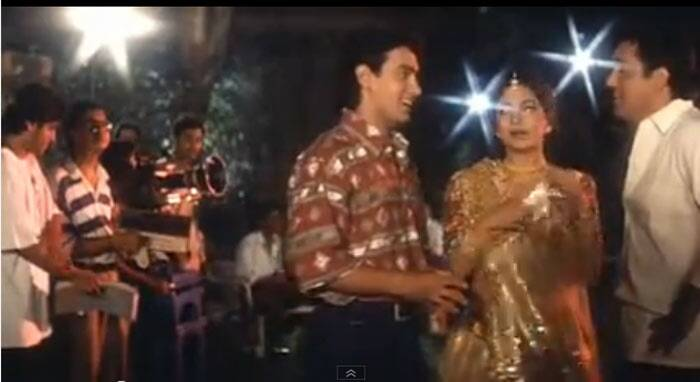 <b>Govinda and Juhi</b>: Actors Govinda and Juhi Chawla played their real selves in the film. They  were seen in Amar's dream sequence in the film.