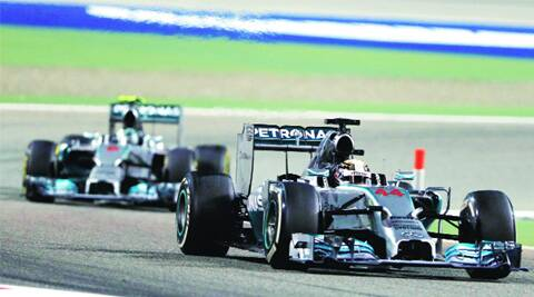 Lewis Hamilton won his second consecutive race of the season. (AP)