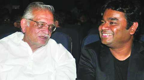 Musical  liaison: Gulzar  with  A.R. Rahman