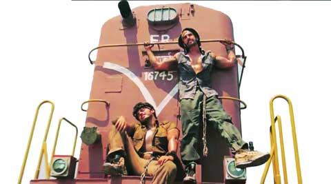 Gunday, starring Ranveer Singh and Arjun Kapoor, which dealt with coal theft from trains, was shot  at Wathar station near  Pune