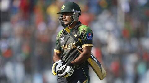 Mohammad Hafeez had a poor run with the bat in the ICC T20 World Cup 2014.  (AP)