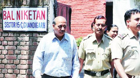 Police arrest Manish Kumar from Bal Niketan on Wednesday