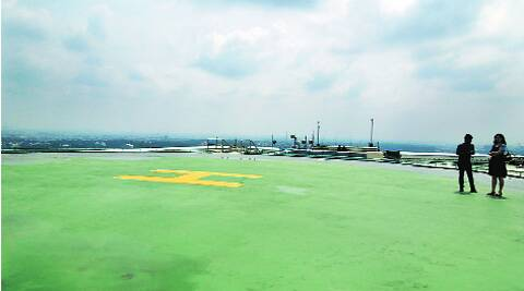 Meant for quick travel and emergencies, helipads await clearances