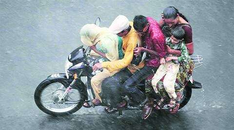 Once the rule is passed, women riding pillion without a helmet will be fined Rs 100. (Archive)