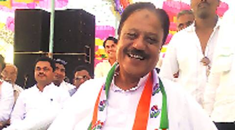 Hidayat Patel is Congress-NCP's only Muslim candidate.