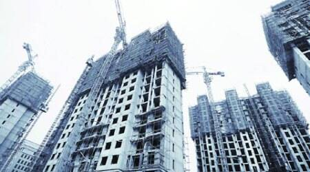 Construction site workers in Gurgaon onrampage