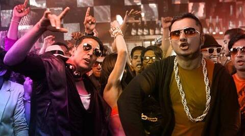 Honey Singh flew back from his ongoing American tour for a special song recording for Akshay Kumar.