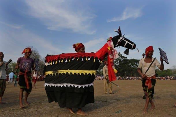 Devotees celebrate Suwori festival in Assam