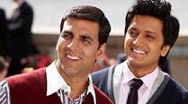 Akshay Kumar, Riteish Deshmukh in 'Housefull 3'