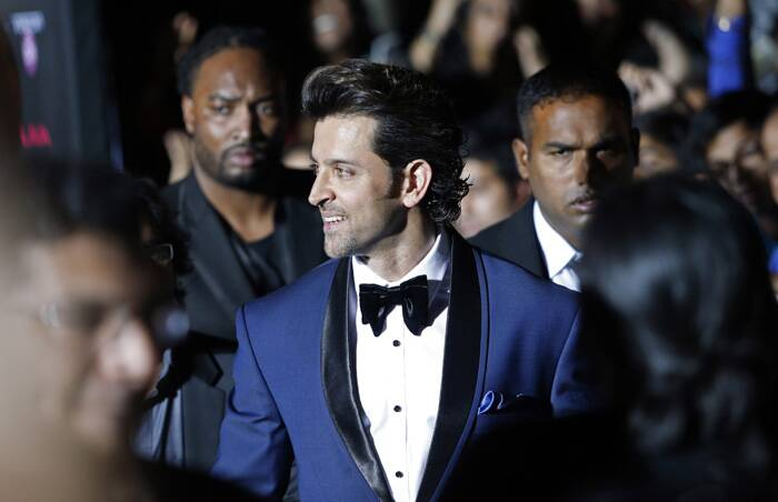 Hrithik is all smiles. (AP)