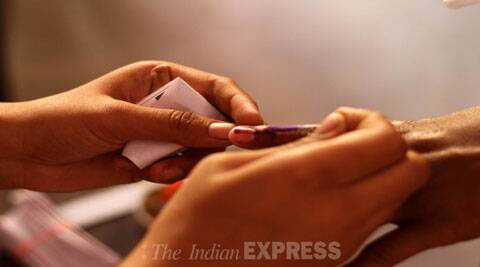 Voting for the lone Lok Sabha constituency and an Assembly by-poll in Mizoram began on Friday.