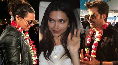 Bollywood celebs including Shahid Kapoor, Saif Ali Khan and Sonakshi Sinha have landed for IIFA.