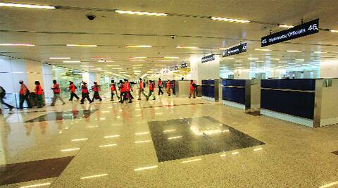 The incident took place at IGIA's Terminal 3. (Archive)