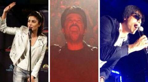 Bollywood stars Priyanka Chopra, Anil Kapoor and Vivek Oberoi, who have already landed in the USA for the awards.