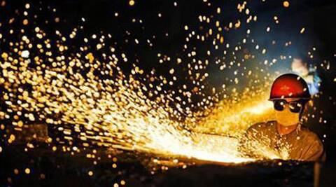 For 2013-14, core sector growth slowed to 2.6 pct from 6.5 pct in 2012-13. Reuters