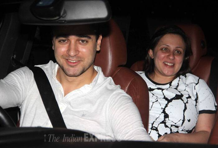 Imran and Avantika's bundle of joy is said to be due this month. (Source: Varinder Chawla)