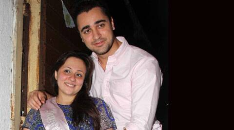 Imran Khan's wife Avantika is expecting their first baby in June.