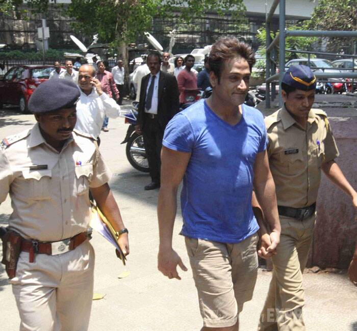 Saraf was arrested on Friday after the victim, who is his girlfriend, alleged that the actor had sexually assaulted her since Wednesday night at his suburban Andheri apartment before she escaped from his flat on the intervening night of Thursday and Friday after being held captive, police said. (IE Photo:  Dilip Kagda)