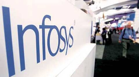 Infosys reported a revenue of Rs 12,875 crore as compared to Rs 10,454 crore in the corresponding period a year ago. AP