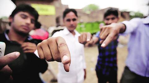 78 pc turnout, but few can show ink mark
