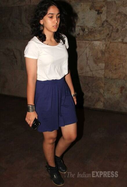 Aamir Khan's daughter Ira's movie date with cousin Imran