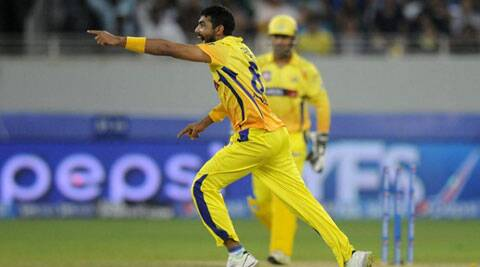 Ravindra Jadeja grabbed four wickets for 33 runs (Photo: BCCI/IPL)