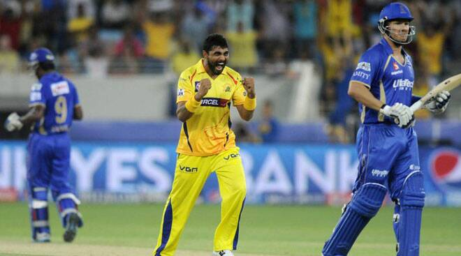 All-round Jadeja steals show in CSK win