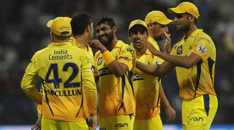 The Chennai Super Kings bowlers exhibited a ruthless attack and crushed the Delhi Daredevils by 93 runs. (BCCI/IPL)