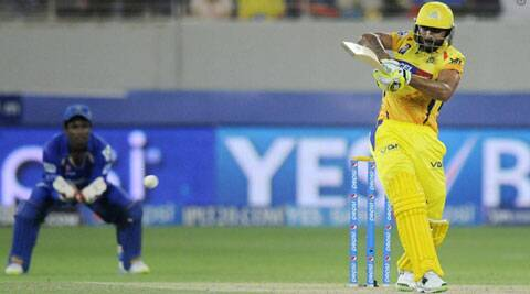 Ravindra Jadeja's knock proved crucial as he resurrected CSK, who were 74/5 in the 12th over (Photo: BCCI/IPL)