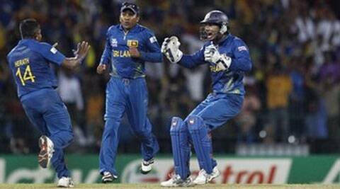 Sunday's World Cup final will be the last T20I appearance for Sri Lankan veterans Mahela Jayawardene and Kumar Sangakarra. (AP)