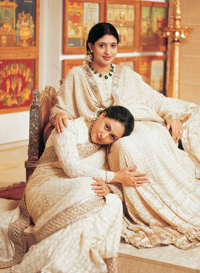 Jaya Bachchan, who is a self confessed strict mother, has always doted on Abhishek and Shewta. (Express archive photo)