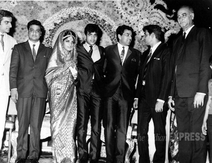 The dancing hero married his childhood sweetheart, Shobha Kapoor and the couple have two children Ekta and Tusshar. His daughter Ekta Kapoor is the head of Balaji Telefilms and is a very successful producer. His son Tusshar is an actor. (Express archive photo)