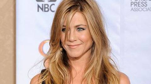 The 45-year-old 'Friends' star is apparently worried about losing her beautiful blonde locks, reported Showbizspy.