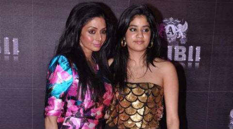 Karan Johar is apparently keen on launching Sridevi's daughter, Jhanvi Kapoor in a film.