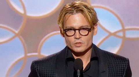 The action comedy stars Johnny Depp as a rakish art dealer on the run from the Russian mob. (AP Photo)