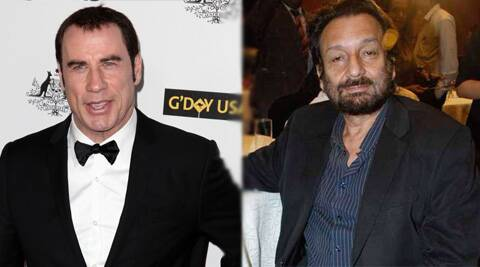 """Shekhar Kapoor has asked me to be a part of 'Paani',"" John Trovolta revealed at IIFA."