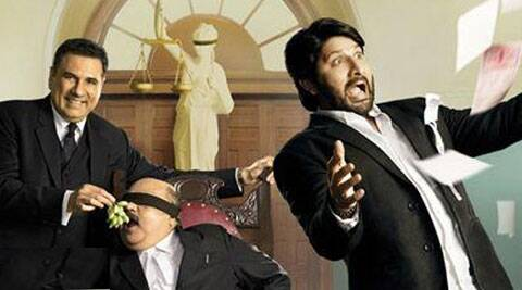 The film had Arshad Warsi, Boman Irani and Amrita Rao in lead roles.