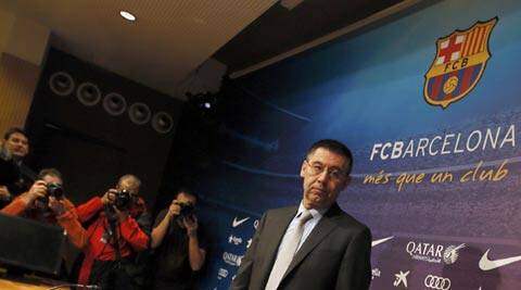 Barcelona denied wrongdoing and said they would move to get the transfer ban suspended until their appeal is heard (Reuters)
