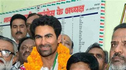 Mohd Kaif, who is making his electoral debut from Phulpur Lok Sabha seat as the Congress candidate, owns assets worth over Rs 10 crore. (PTI)